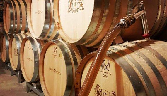 Première entonnage de la Cuvée Héritage Chardonnay (2019)