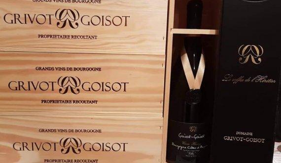 Magnum de Cuvée Héritage Chardonnay caisse bois